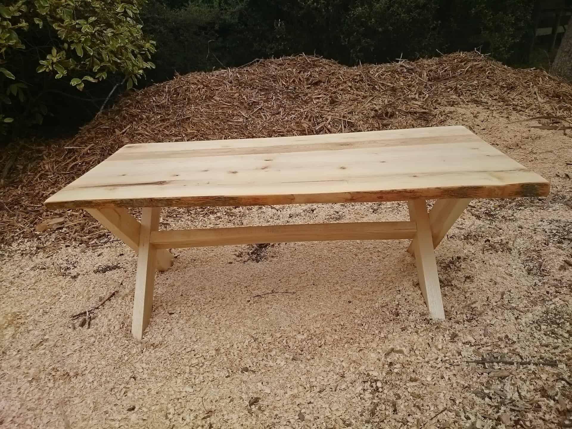 Rustic European Ash Coffee Table