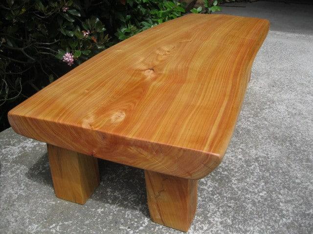 Macrocarpa Coffee Table