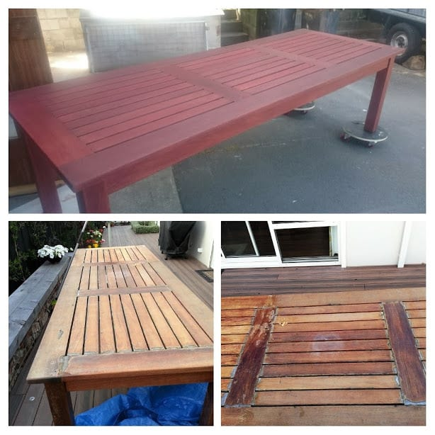 Restored Outdoor Table