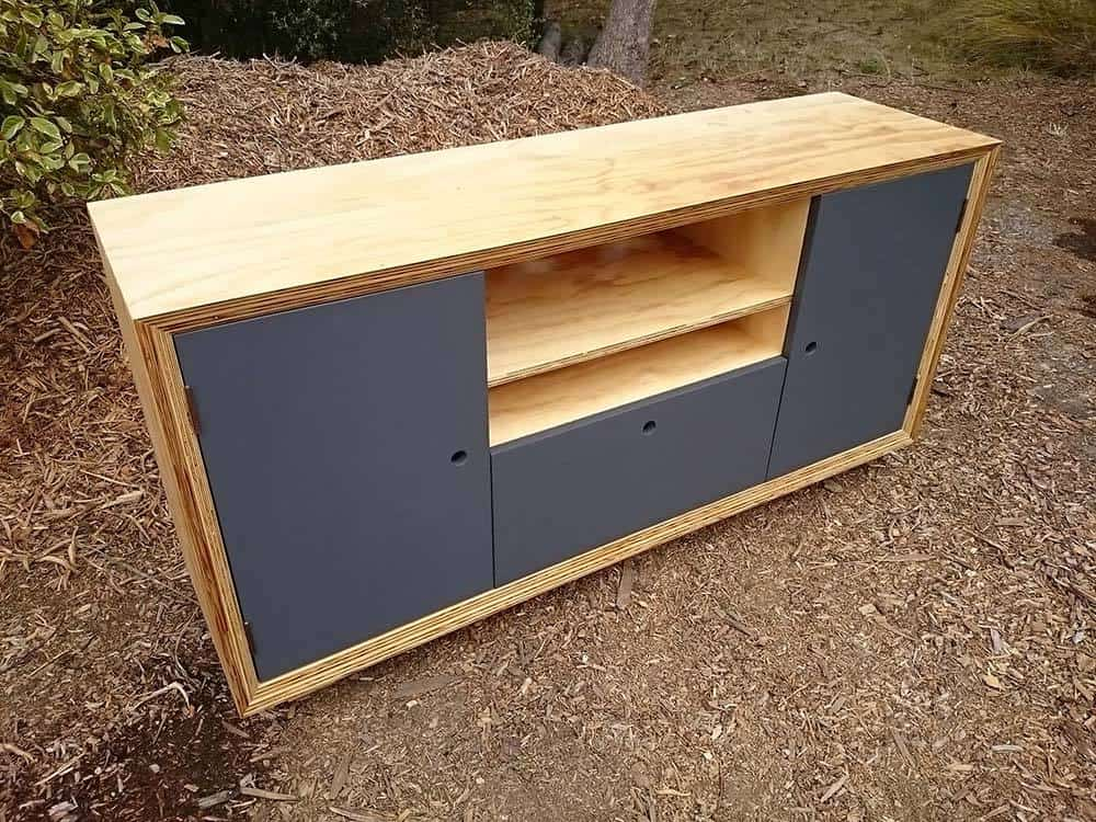 Plywood Entertainment Unit