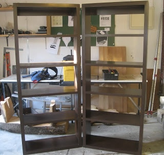 Vanished Plywood Bookshelves CUSTOM ORDER