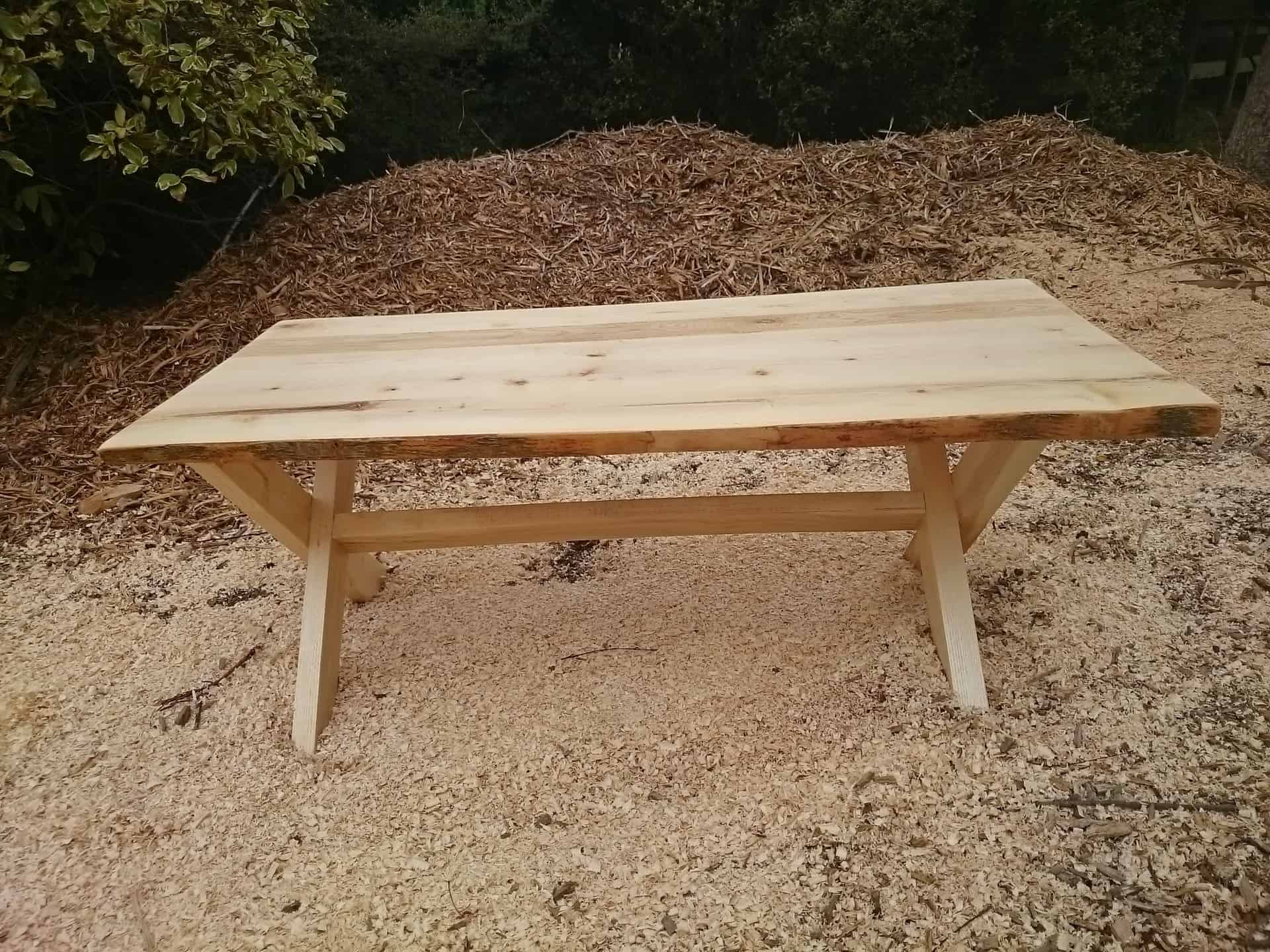 Rustic European Ash Coffee Table SOLD