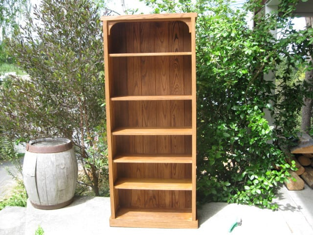 Oak Bookcase SOLD