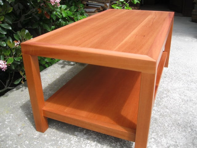Solid Beech Coffee Table