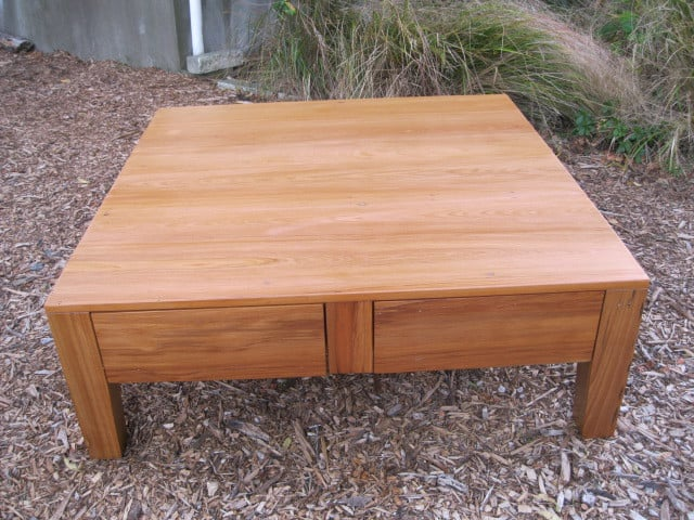 Large Recycled Coffee Table CUSTOM ORDER