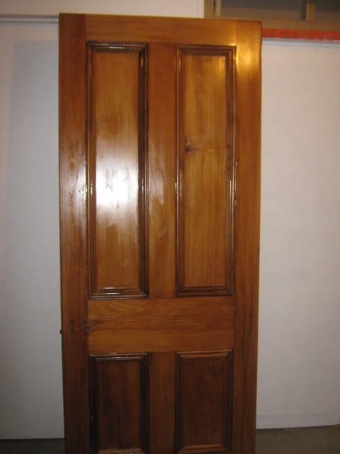 Restored Kauri Door