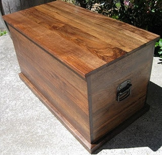 Walnut Chest SOLD
