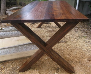 Walnut Dining Table SOLD