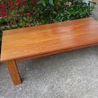 Traditional Rimu Coffee Table
