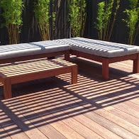 Kwila Outdoor Furniture CUSTOM ORDER
