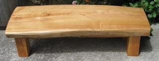 Macrocarpa Coffee Table SOLD