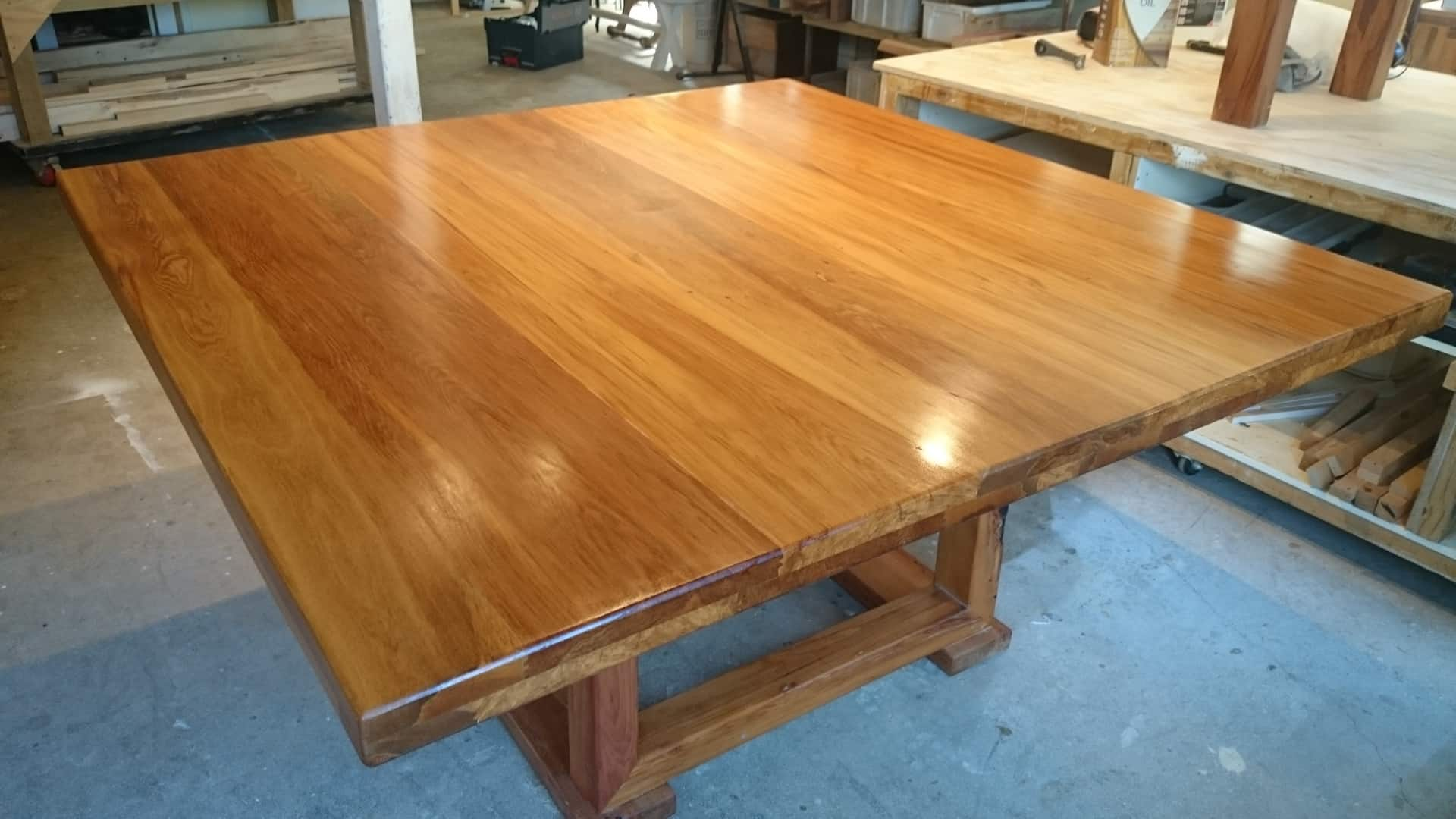 Large Recycled Rimu Dining Table CUSTOM ORDER