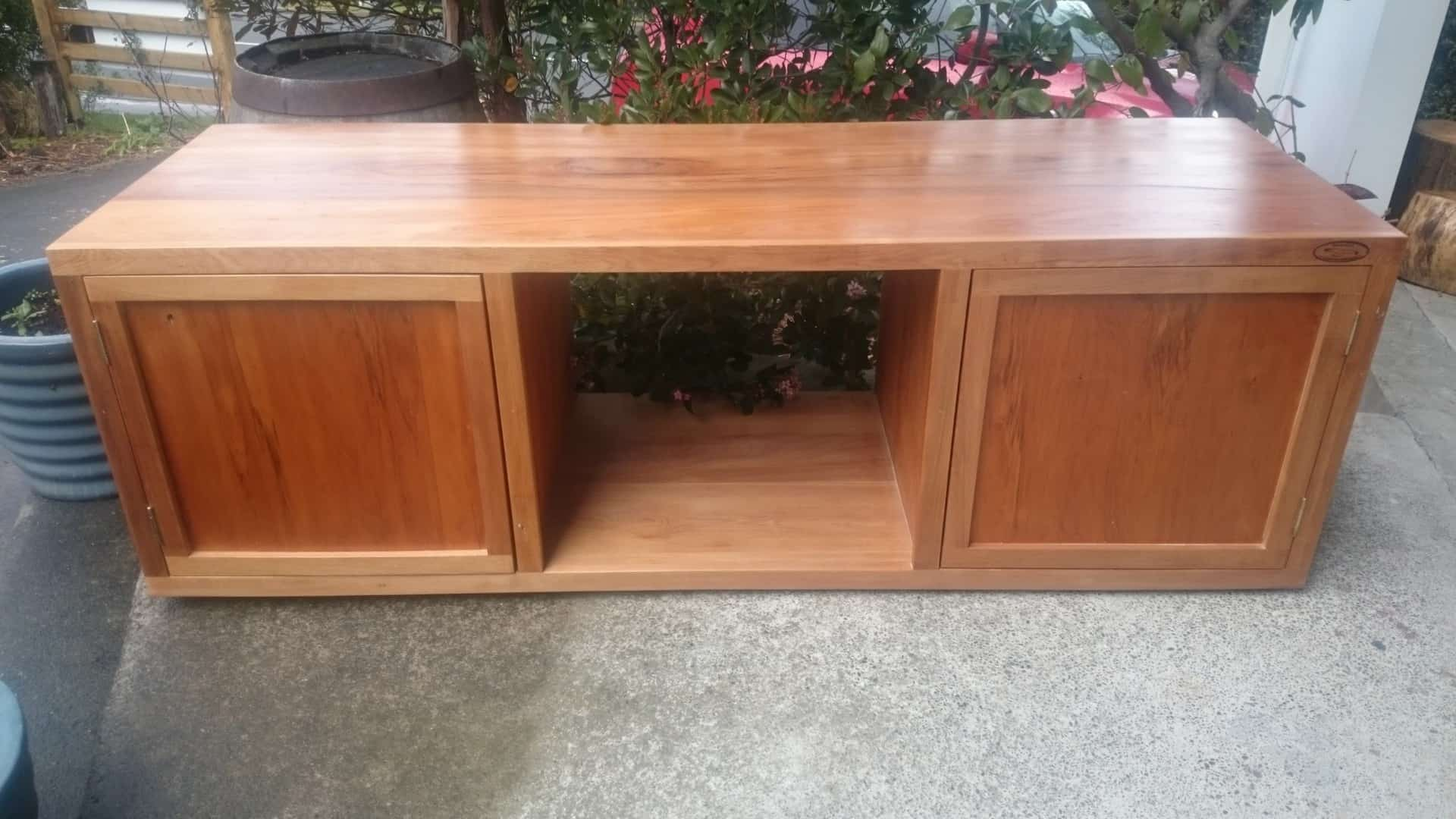 Solid Rimu Television Cabinet CUSTOM ORDER