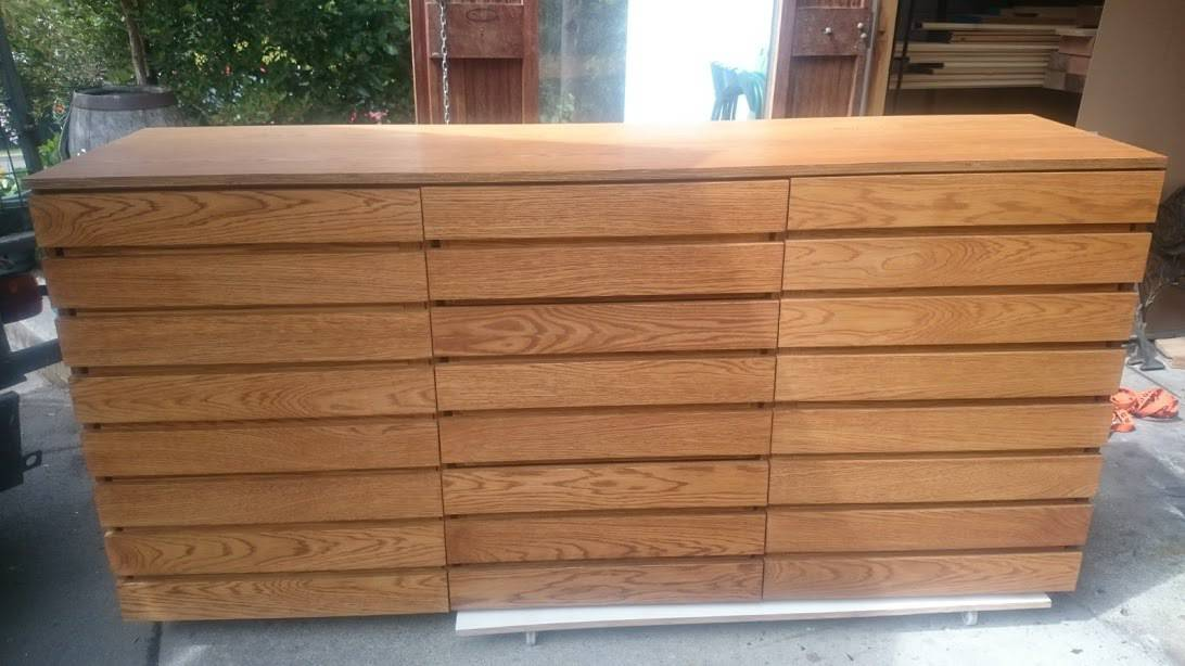 Large Oak Dresser CUSTOM ORDER