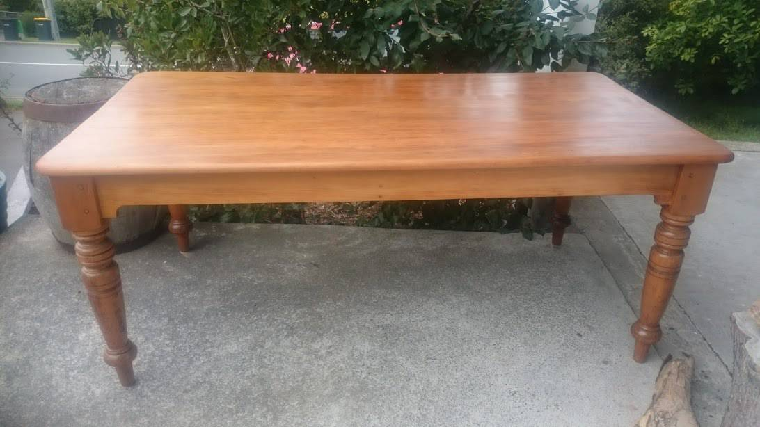 Restored Rimu Dining Table