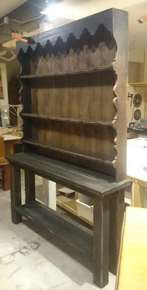 Custom made Kitchen Dresser for Morehouse Hospitality