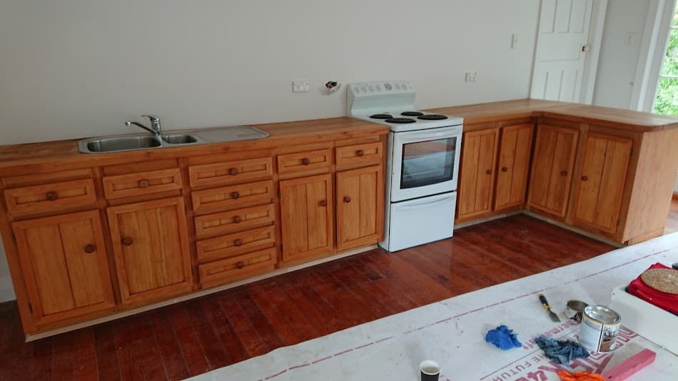 Restored Rimu Kitchen