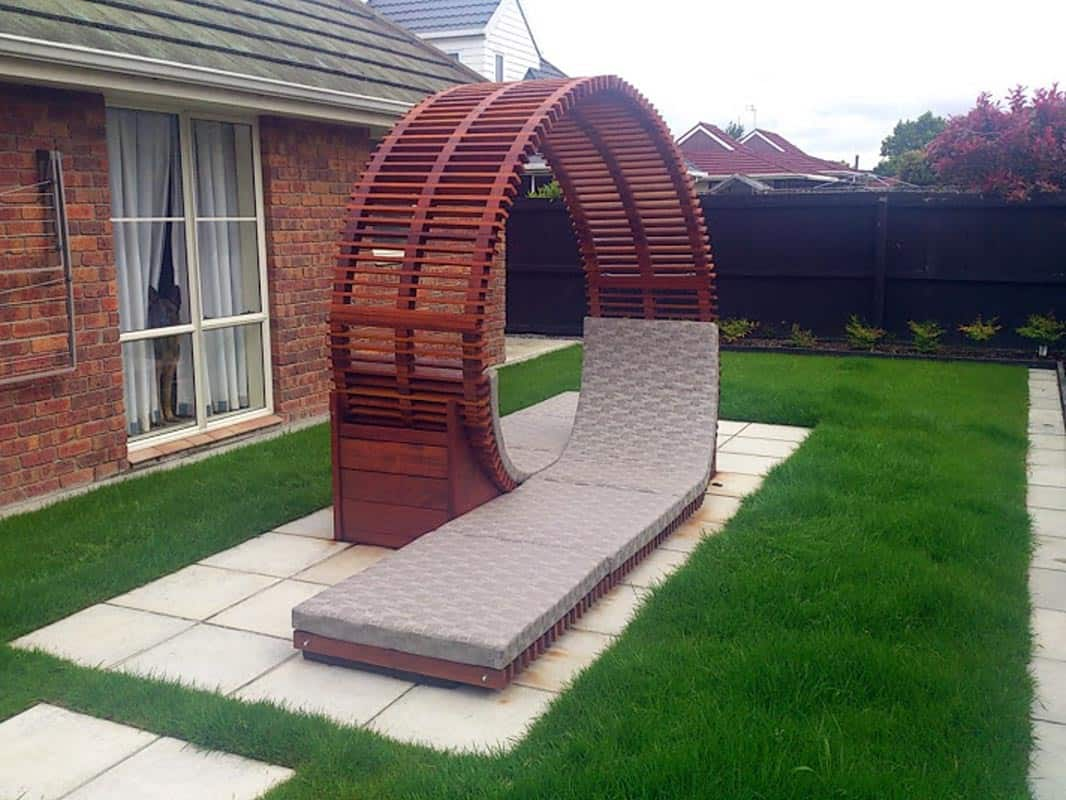 Spiral Deck Chair