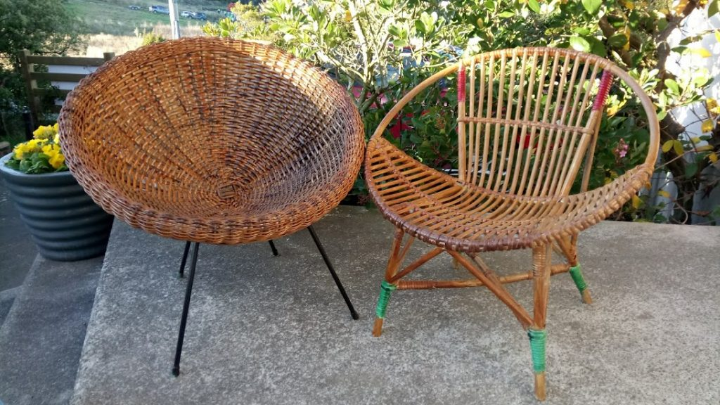 Cane chairs restored  for Morehouse Hospitality