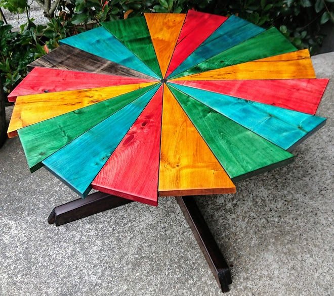 Rainbow Connection Coffee Table