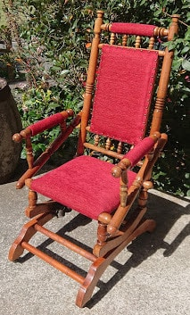 Restored NZ Colonial Rocking Chair