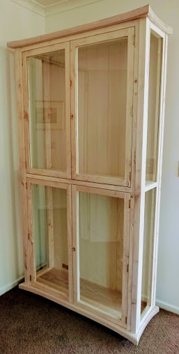 Ann Margaret Interiors Display Cabinet