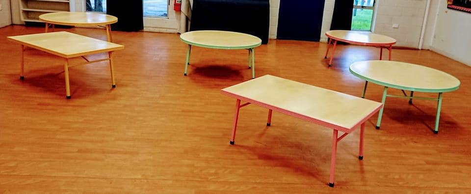 Upcycled Tables for Lansdowne Playcentre