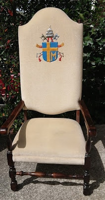 Catholic Diocese Chair Restoration