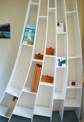 Willy Wonka Bookcase