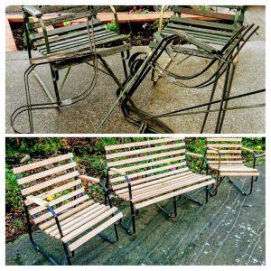 Morehouse Hospitality Garden Seat Restoration