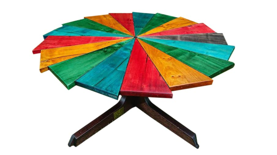 Rainbow Connection Coffee Table