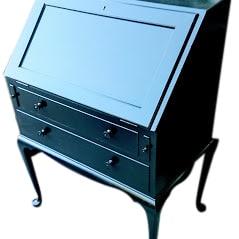 Restored Black Cabinet